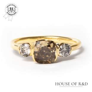 14k Yellow Gold - 1.86tcw - Diamond Ring