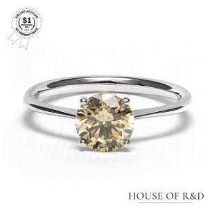 14k White Gold - 1.35tcw - Diamond Ring