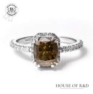 14k White Gold -  2.35tcw -  Diamond Ring