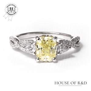 14k White Gold - 1.70tcw - Diamond Ring