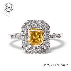14k White Gold -  1.33tcw -  Diamond Ring