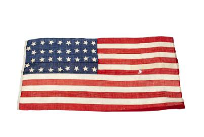 RARE UNITED STATES OF AMERICA 34 STAR UNION FLAG