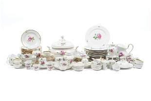 LARGE COLLECTION OF MEISSEN PORCELAIN
