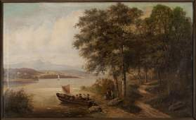 LANDSCAPE BY JEAN VAUX (FRENCH, 19TH CENTURY)