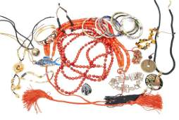 COLLECTION OF CHINESE JEWELRY