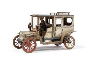 CARETTE CLOCKWORK TIN TOURING CAR