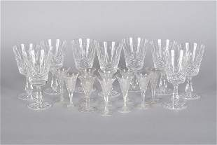 HAWKES AND WATERFORD CRYSTAL STEMWARE