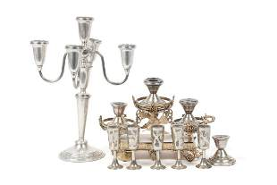 SILVER TABLE ACCOUTREMENTS