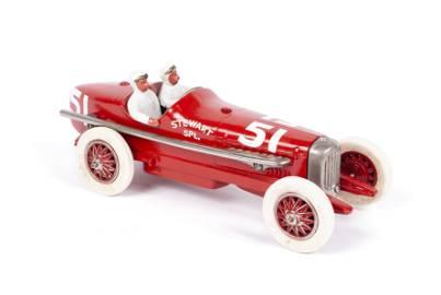 DON LEWIS CAST IRON DUESENBERG RACE CAR TOY
