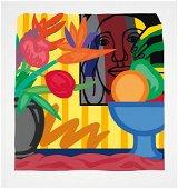 Mixed Bouquet is a Screenprint by Tom Wesselmann