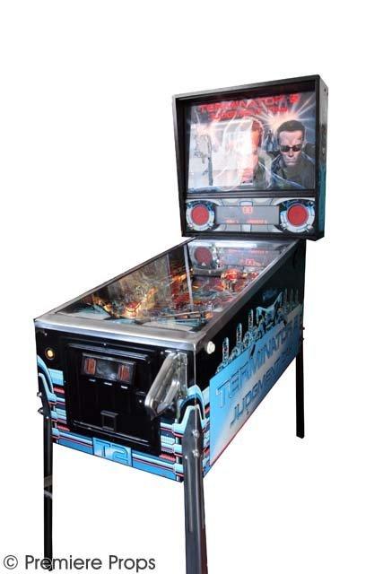 107: Terminator 2 Pinball Machine