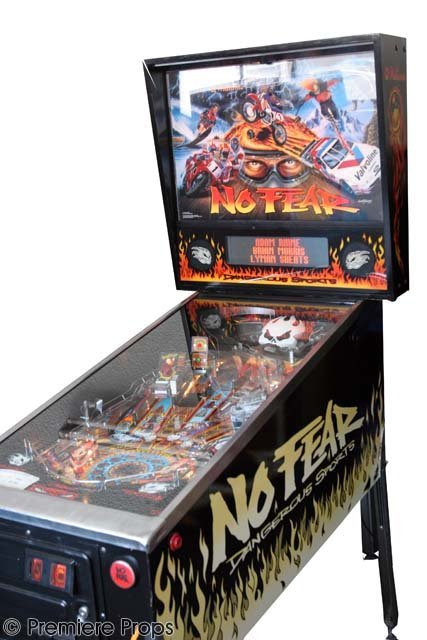 114: No Fear Pinball Machine
