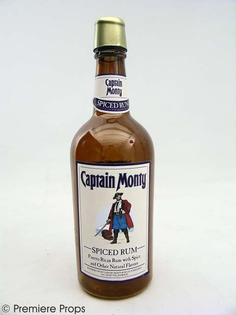 119: BLADES OF GLORY-Chazz's(Will Ferrell) Rum Bottle