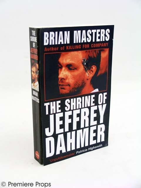 "122: DISTURBIA - ""Shrine of Jeffrey Dhamer"" Prop Book"