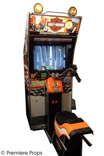 123: Harley Davidson - L.A. Riders Arcade Game