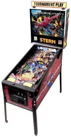 149: Spiderman Pinball Machine