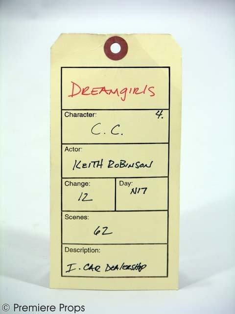 696: DREAMGIRLS - CC's (Keith Robinson) Leather Jacket - 2