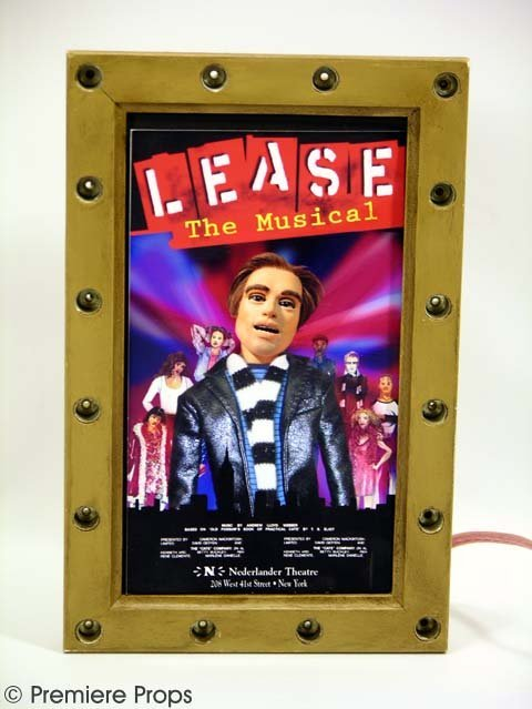 777: TEAM AMERICA - 'Lease: The Musical' Sign