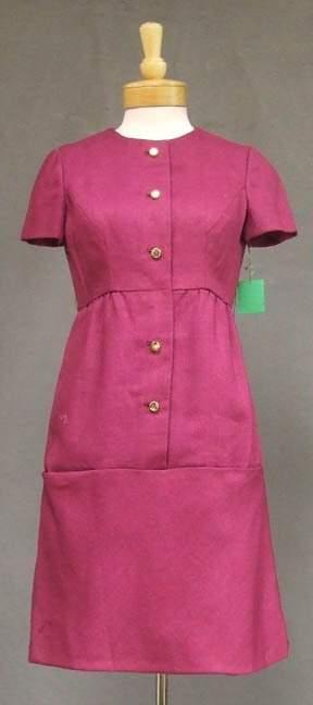 Fantastic Mulberry 1960's Sarmi Day Dress