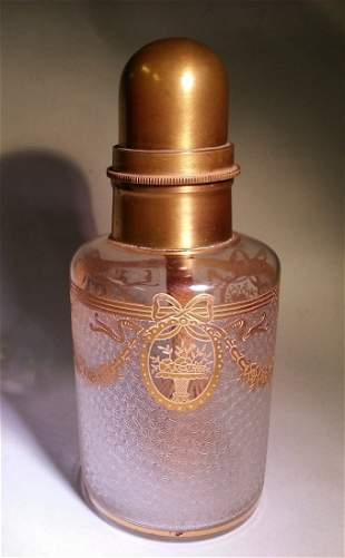 Cameo Glass Acid Cutback Lampe Berger St. Louis Baccara