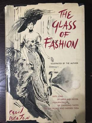 The Glass Of Fashion By Cecil Beaton 1954 Hardcover