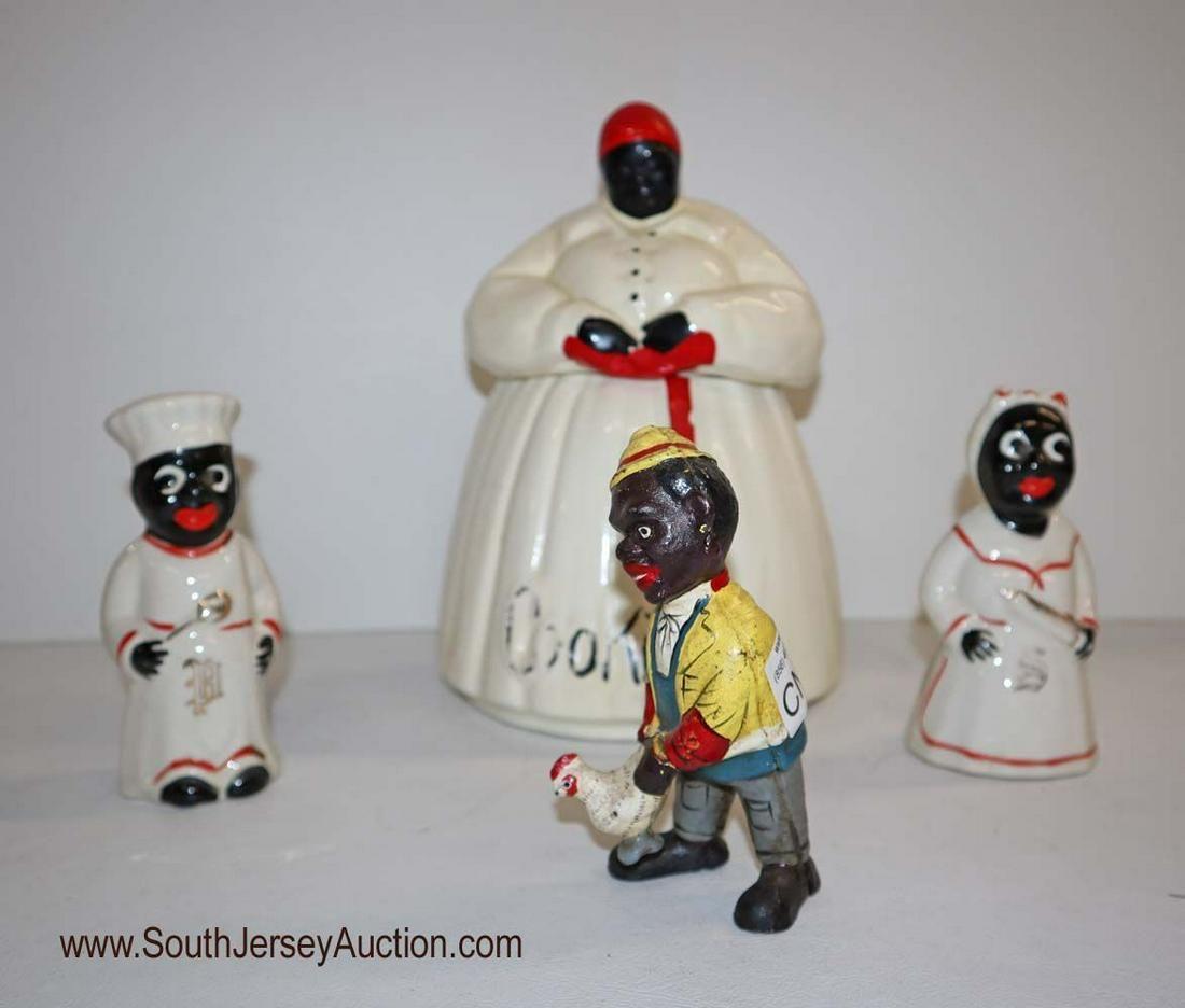 Black memorabilia lot