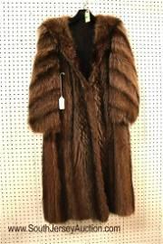 Raccoon fur coat and hood Size M/L