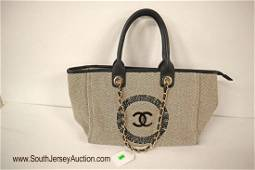 Like New beautiful marked Channel twead and monogram