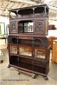 Beautiful antique etagere manner of Hunzinger