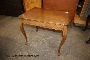 Italian country French solid mahogany antique style