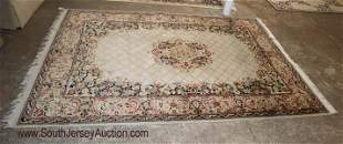 Nice Persian style rug 4 1/2 ' x 9 1/2'