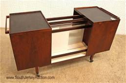 MCM rosewood tea cart/bar by Vantage Furniture