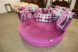 Like new ultra modern purple/grey lounge day bed