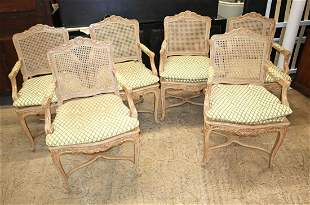 Weiman Set of 6 country FR chairs