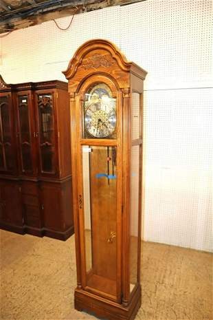 Howard Miller Grandfather clock with all parts
