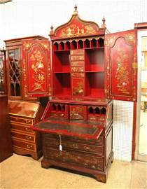 Awesome Maitland Smith Secretary Bookcase Asian design