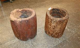 Pr. west African handmade bowls / planters