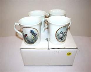Lenox porcelain bird cups