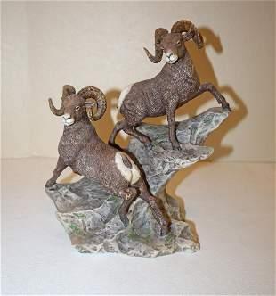 Lenox Big Horn Sheep Wildlife of 7 Continents