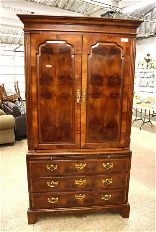 Henredon armoire with fitted interior