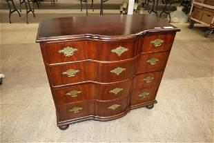 Baker mahogany 4 drawer bachelor chest