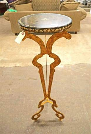 Painted Maitland Smith plant stand