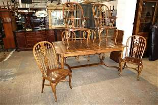 Ethan Allen 7pc Country French dining room set