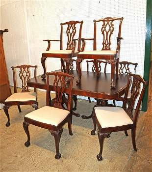 Commonwealth of PA mahogany Dining room set