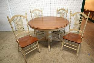 """48"""" d kitchen table and 4 chairs"""