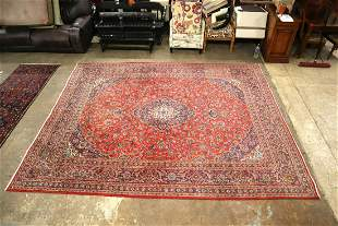 Semi antique Persian style room size rug