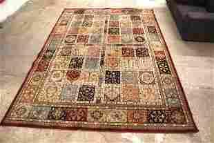 Contemporary decorator room size rug