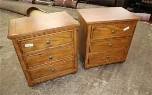 PR Ethan Allen mahogany finish nightstands