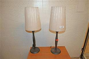 PR quality table lamps with nice shades