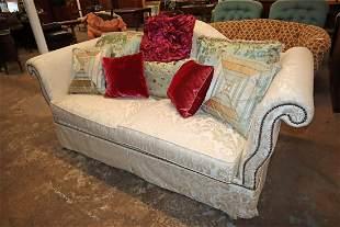 Ferguson Copeland tacked front upholstered sofa
